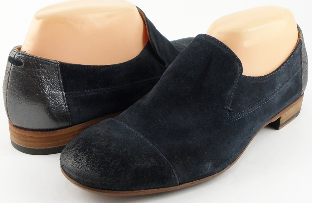 style #G9031 Navy Suede '4880' Loafers