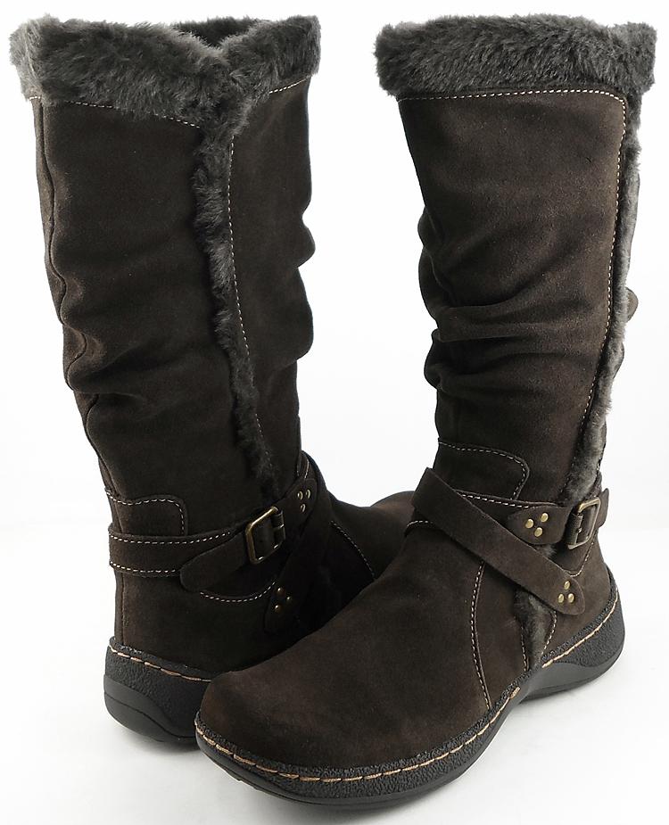 bare traps emalyn brown suede womens designer winter