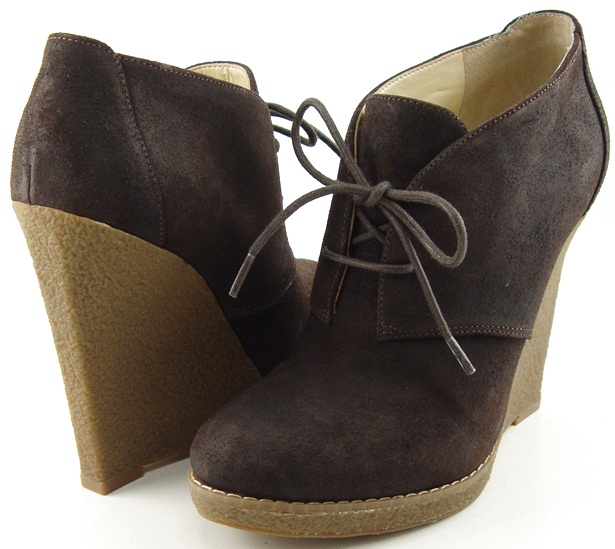 7ba9b33b3189 Enzo Angiolini flory Dark Brown Leather Womens Designer Ankle Boots ...