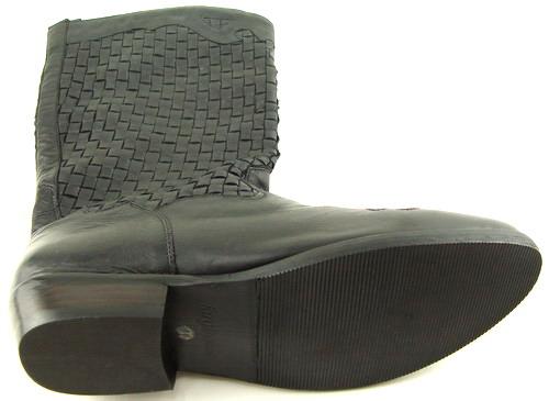 FARYL ROBIN ROCKER Black Womens Shoes Western Cowboy Boots 11